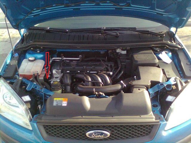 Двигатель Форд Фокус 2 1.6 100 л.с.