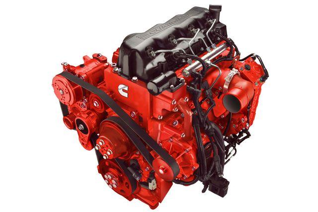 Двигатель Cummins 2.8 ISF