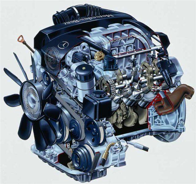 Двигатель Мерседес М 112 V6