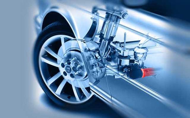 Система управления колесом авто