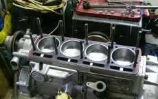 Ремонт двигателя Волга
