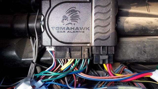 Блокировка двигателя автосигнализацией