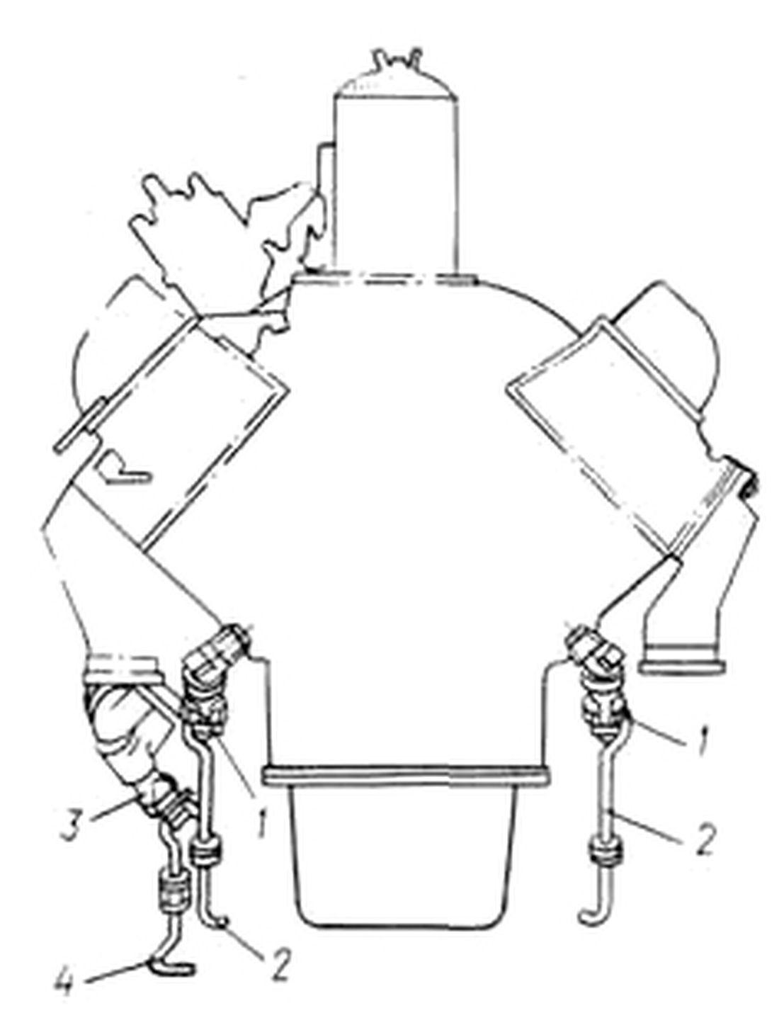 Схема дистанционного управления сливными кранами Зил 130