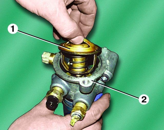 Термостат двигателя ЗМЗ 402