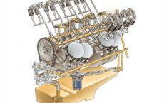 Система смазки автомобильного двигателя