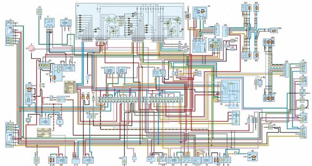 Схема электрооборудования ЗМЗ 406 на ГАЗ 3110