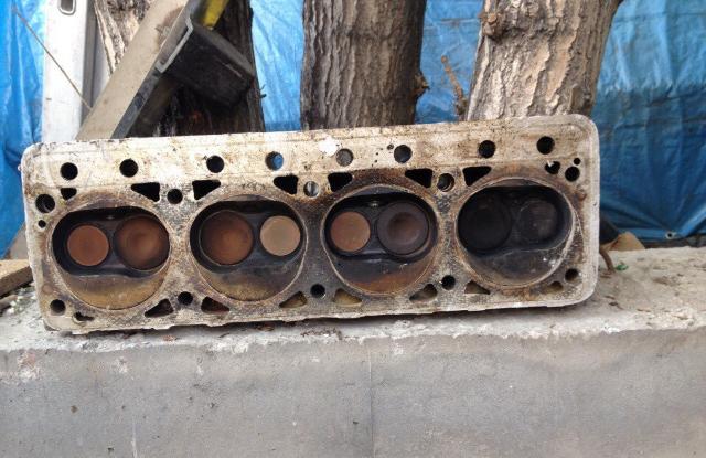 ГБЦ двигателя УАЗ 417