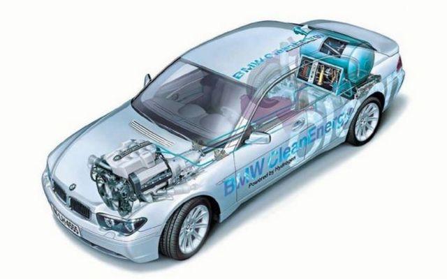 Автомобиль с водородный двигатель