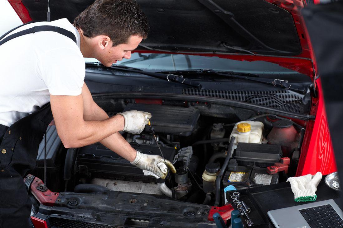Обслуживание двигателя