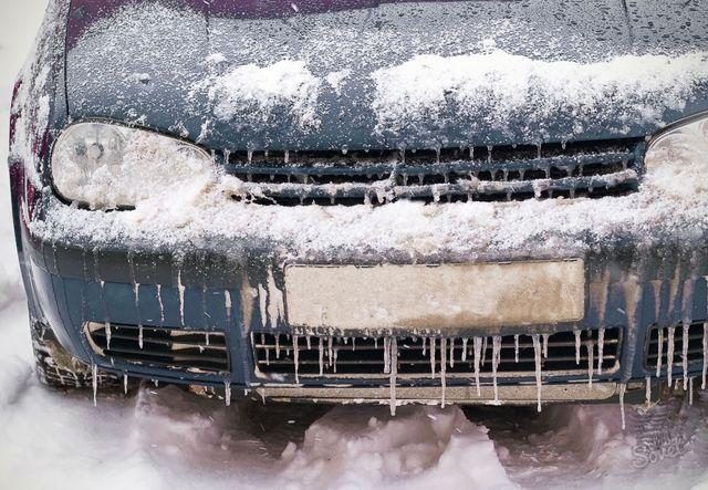 Запуск машины зимой
