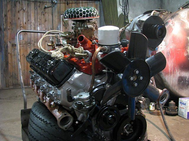 Двигатель ЗМЗ 523.4
