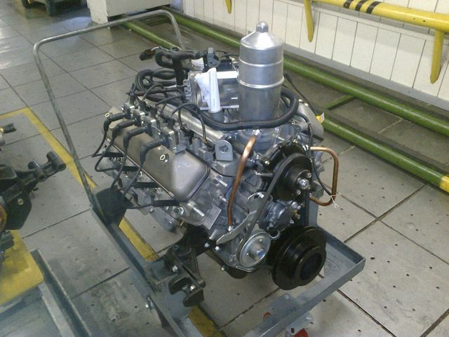 Двигатели ЗМЗ V8