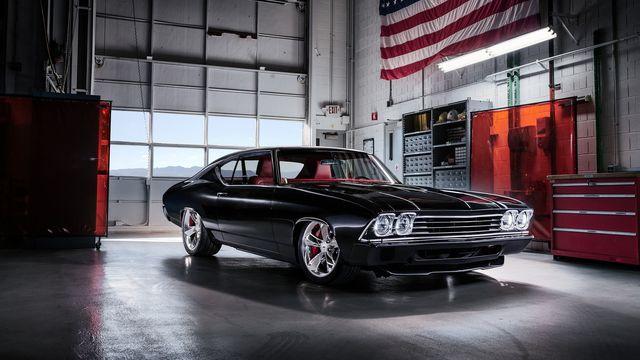 Легендарная американская машина
