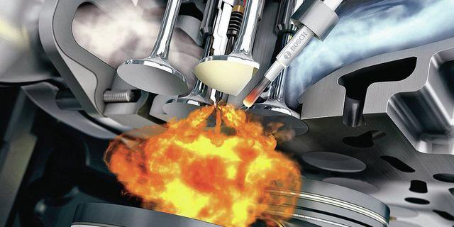 Воспламенение топливовоздушной смеси