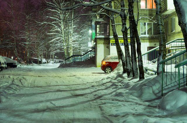 Зимний двор