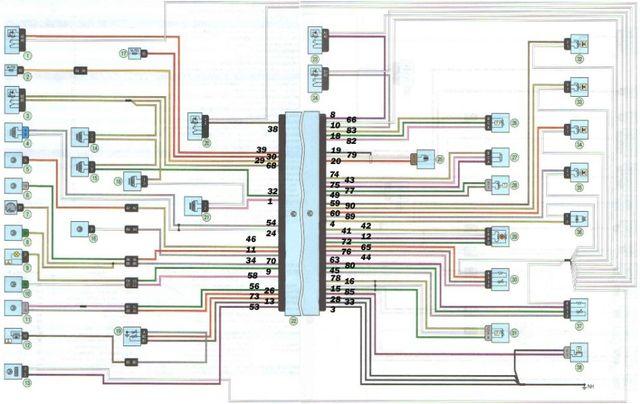 Схема электропитания Лада Ларгус