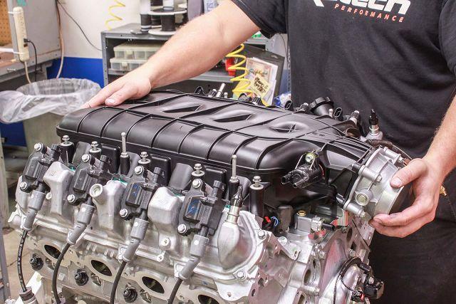 Увеличение мощности атмосферного двигателя
