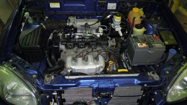 Мотор Шевроле Ланос 1.5