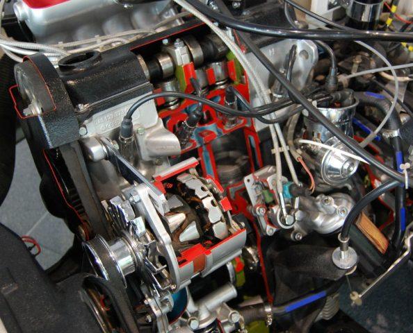 Мотор ЕА827
