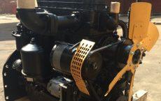 Отремонтированный двигатель Д243