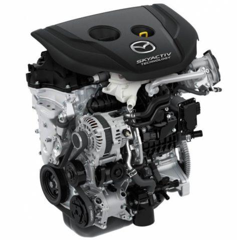 Двигатель Мазда Скай-Актив