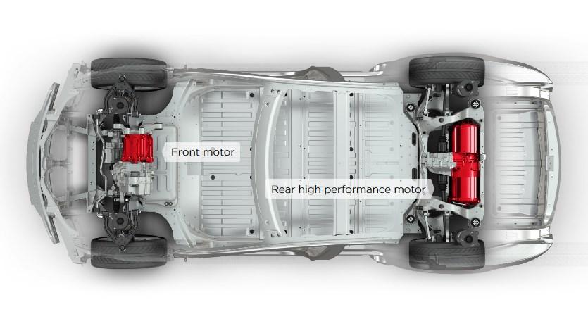 tesla model s электродвигатель