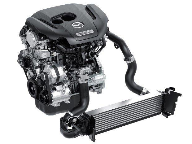 Двигатель Скай-Актив 2.5