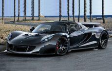 Автомобиль Hennessey Venom GT Spyder