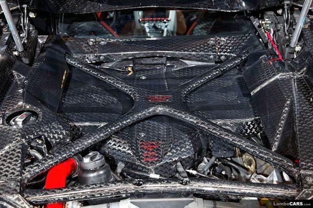 Мотор Lamborghini Aventador Mansory Carbonado GT