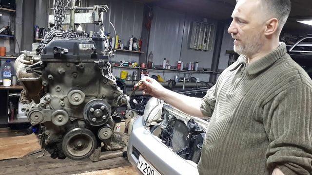 Ремонт мотора 2TR-FE