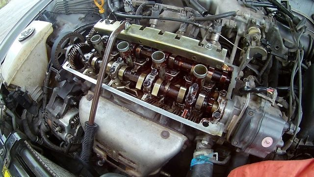 ТО двигателя 5А