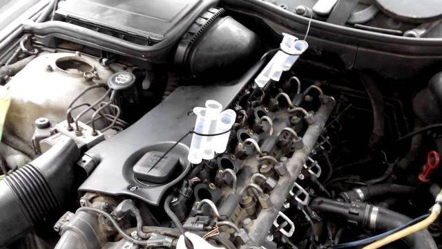 Диагностика двигателя М57