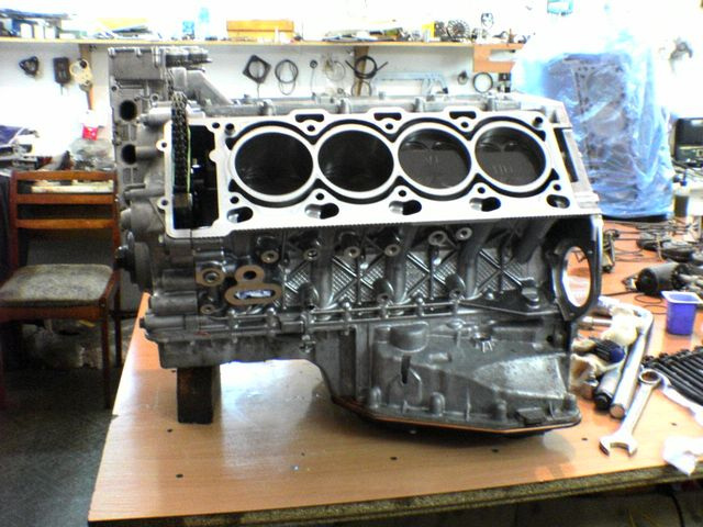 Блок цилиндров БМВ М60