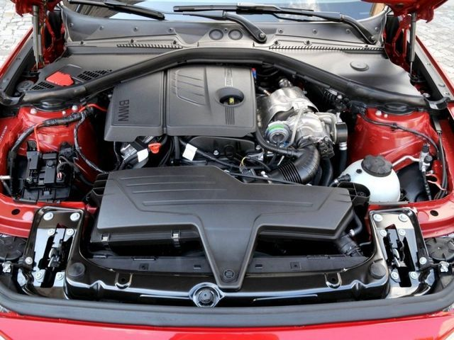 BMW N13 в подкапотном пространстве