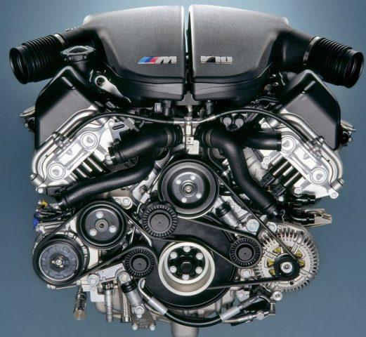 Мотор BMW S85