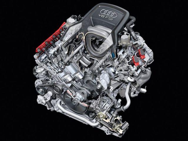 Двигатель  FSi Audi A8