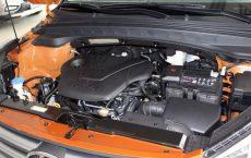 Мотор G4NA в подкапотном пространстве