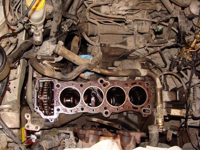 Ремонт двигателя GA15DE