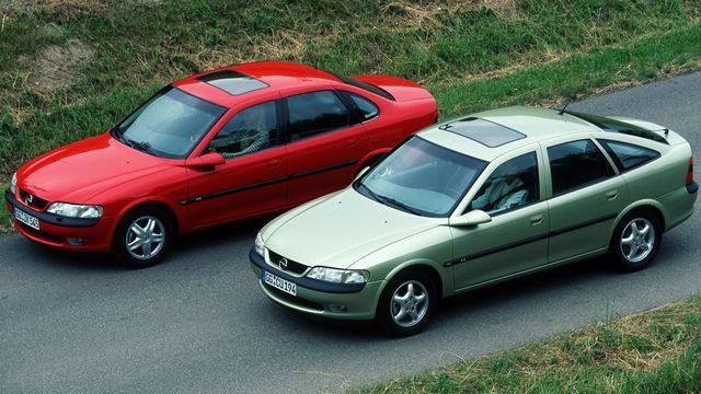 Автомобили Opel Vectra B
