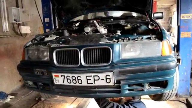 Процесс проведения ТО BMW M40