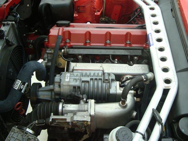 Мотор BMW M42 под капотом