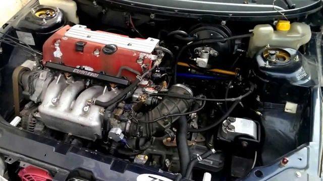 Машина с двигателем K20A
