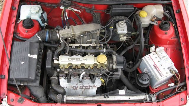 Движок Opel Astra F