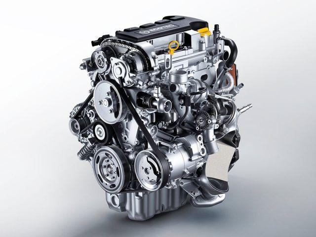 Схема мотора Opel Astra G