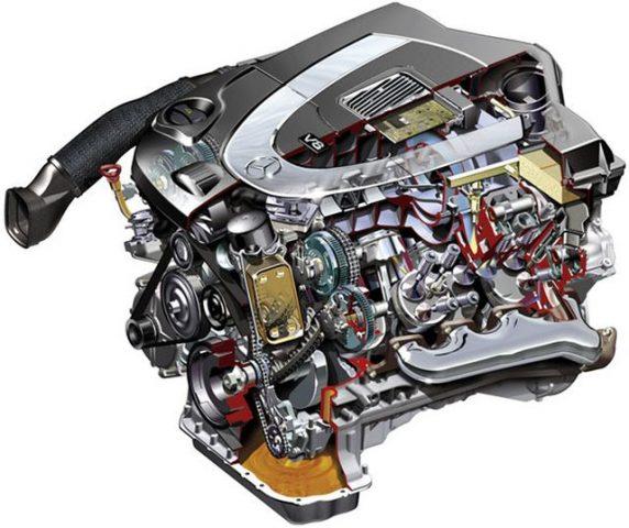 Мотор М273 КЕ46