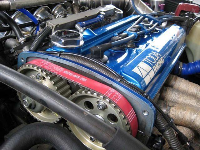 Доработанный мотор 4А«Black Top»