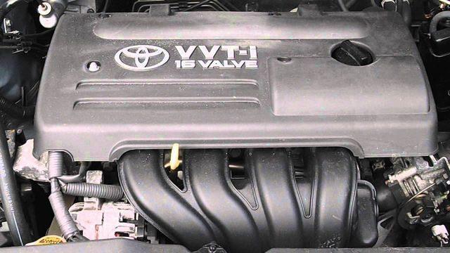 Мотор 4ZZ FE