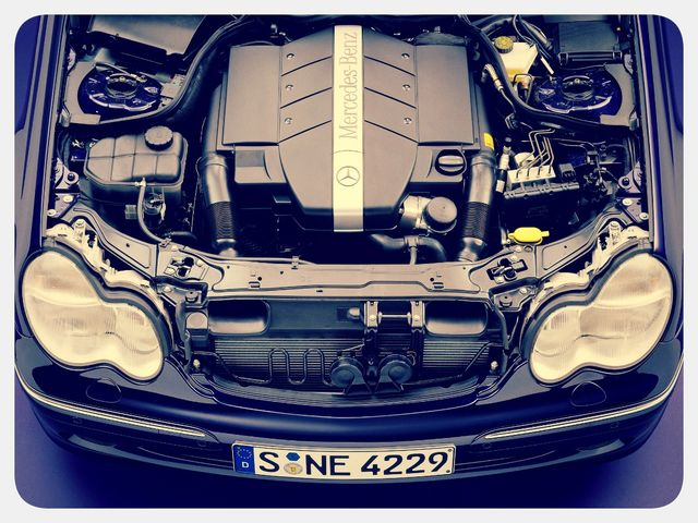 Мотор MERCEDES-BENZ C-Class
