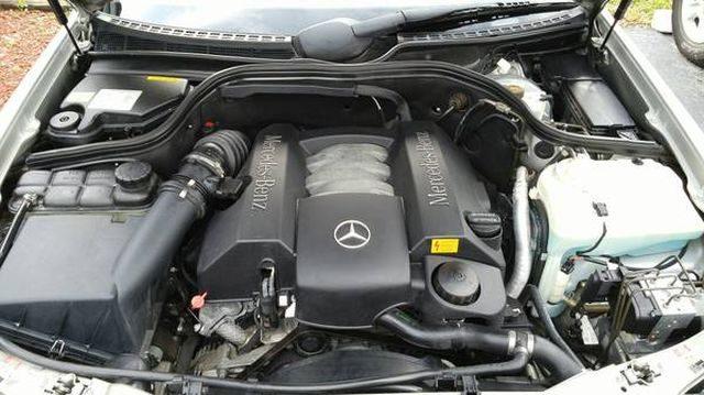 Мотор MERCEDES-BENZ CLK-Class