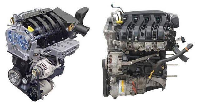 Двигатель К4М под разными ракурсами